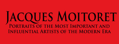 Jacques Moiteret. Portraits of the most important and influential artists of the modern era